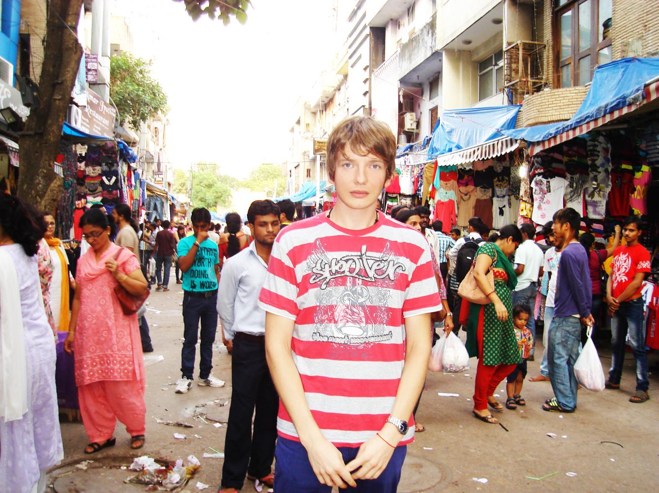 Saša Milivojev Delhi India