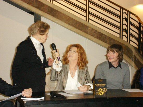 Saša Milivojev, Branka Veselinović i Daliborka Stojšić