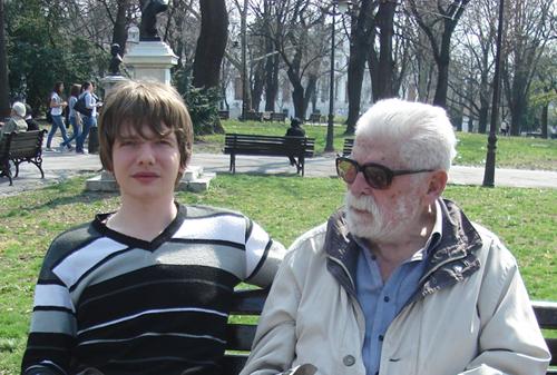 Saša Milivojev i Stevan Mirković