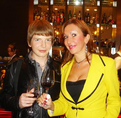 Saša Milivojev i Mis Svetlana Koprivica