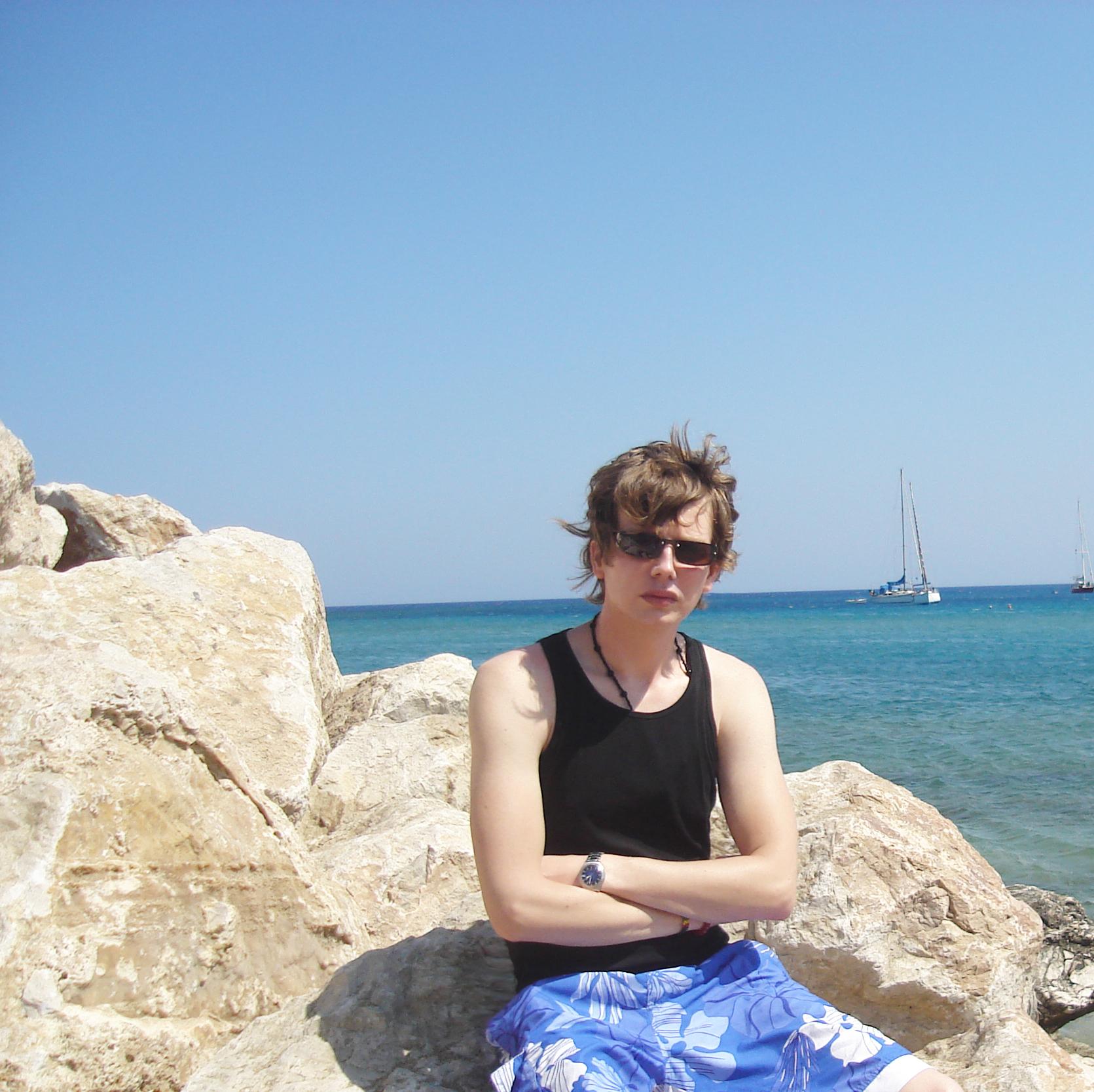 Saša Milivojev - Rhodes, Greece